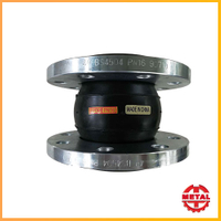 Flexible Rubber Joints Flange Type Single Sphere