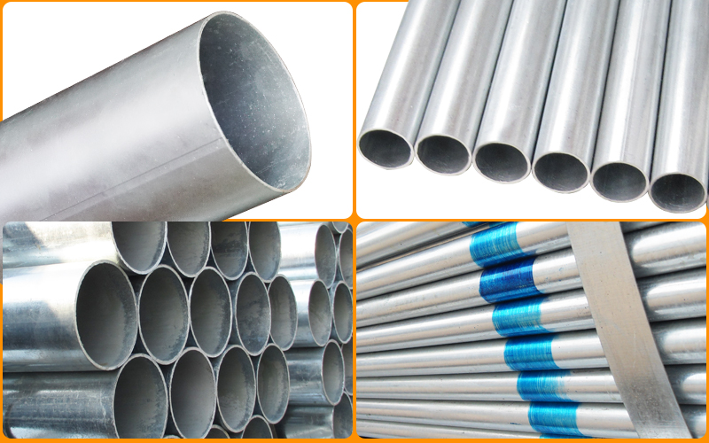 Knowledge about hot-dip galvanized steel pipe